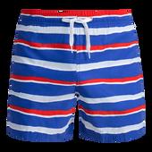 Bild: p2 beach Shorts lightblue-red