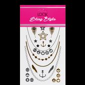 Bild: LOOK BY BIPA Bling Style Metallic Tattoos