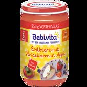 Bild: Bebivita Erdbeere mit Heidelbeere in Apfel
