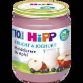 Bild: HiPP Heidelbeere in Apfel