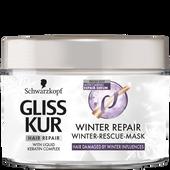 Bild: Schwarzkopf GLISS KUR Winter Repair Winter-Rescue Maske