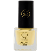 Bild: iQ COSMETICS Colour Flash Nail Polish lemon chrome