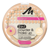 Bild: MANHATTAN Clearface 2in1 Powder & Make-up sand