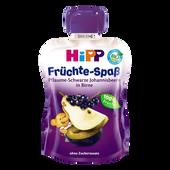 Bild: HiPP Früchte-Spaß Pflaume-Johannisbeere in Birne