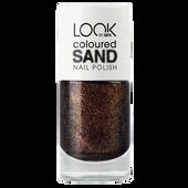 Bild: LOOK BY BIPA Coloured Sand Nail Polish glitter lilac