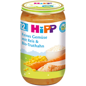 Bild: HiPP Gemüsereise mit Truthahn