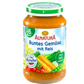 Bild: ALNATURA Buntes Gemüse mit Reis