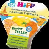 Bild: HiPP Karotten mit Kartoffeln und feinem Wildlachs