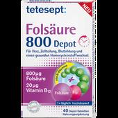 Bild: tetesept: Folsäure 800 Depot Tabletten