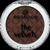 Bild: Essence The Velvets Eyeshadow Mr. mocca-bean