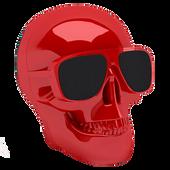 Bild: jarre technologies Aeroskull Nano Lautsprecher Glossy Red