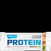 Bild: Max Sport Protein Chocolate & Nuts Riegel