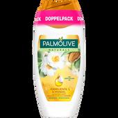 Bild: Palmolive Naturals Cremedusche Kamelienöl & Mandel Doppelpack