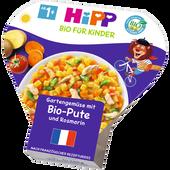 Bild: HiPP Gartengemüse mit Pute und Rosmarin