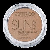 Bild: Catrice Sun Glow Matt Bronzing Powder deep bronze