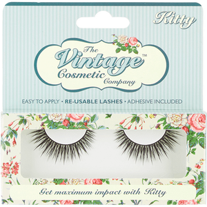 Bild: The Vintage Cosmetic Company künstliche Wimpern KITTY