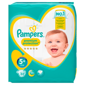 Bild: Pampers premium protection Gr. 5+(13-25kg) Value Pack