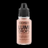 Bild: GOSH Lumi Drops Highlighter peach