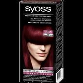 Bild: syoss PROFESSIONAL dauerhafte Coloration leuchtendes rot-violett