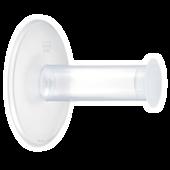 Bild: KOZIOL WC-Rollenhalter PLUG'N ROLL transparent