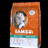 Bild: IAMS Hairball Controll Trockenfutter mit Huhn