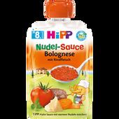Bild: HiPP Nudel-Sauce Bolognese mit Rindfleisch