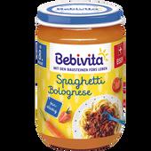Bild: Bebivita Spaghetti Bolognese