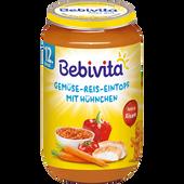 Bild: Bebivita Gemüse-Reis Eintopf mit Hühnchen