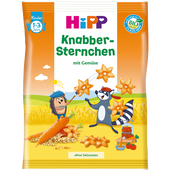 Bild: HiPP Knabber Sternchen mit Gemüse