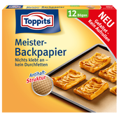 Bild: Toppits Meister-Backpapier