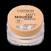 Bild: Catrice 12h Matt Mousse Make Up light beige