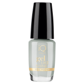 Bild: iQ COSMETICS Gel Like Shine Nail Polish silver lining