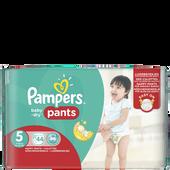 Bild: Pampers Baby-Dry Pants Gr. 5  (12-18kg) Big Pack