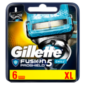Bild: Gillette Fusion PROSHIELD Chill Rasierklingen