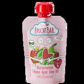 Bild: FruchtBar Fruchtpüree Wassermelone-Erdbeere-Apfel-Birne-Reis