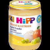 Bild: HiPP Apfel-Traube mit Reis