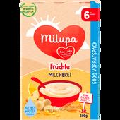 Bild: Milupa Milch-Getreidebrei Milde Früchte