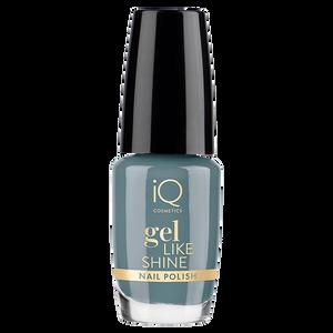 Bild: iQ COSMETICS Gel Like Shine Nail Polish storm blue