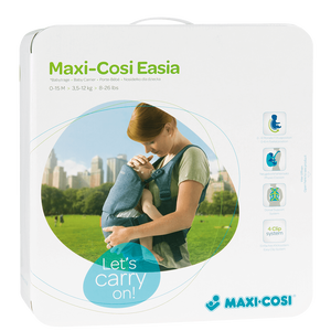 Bild: Maxi Cosi Easia Babytrage pure denim