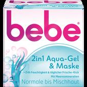 Bild: bebe 2in1 Aqua-Gel & Maske