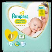 Bild: Pampers premium protection new baby Windeln Gr. 1 (2-5kg)