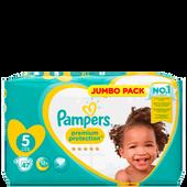 Bild: Pampers premium protection Gr. 5 (11-23 kg) Jumbopack