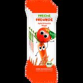 Bild: Freche Freunde Frecher Getreideriegel Apfel & Karotte