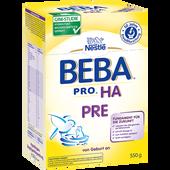 Bild: Nestlé BEBA HA Pre Säuglingsnahrung