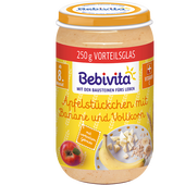 Bild: Bebivita Apfelstückchen mit Banane und Vollkorn