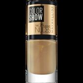 Bild: MAYBELLINE Color Show 24 Karat Nudes Nagellack shimmer & chic