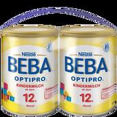 Bild: Nestlé BEBA OPTIPRO Kindermilch ab dem 12. Monat