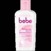 Bild: bebe Young Care Quick & Clean Reinigungslotion & Gesichtswasser