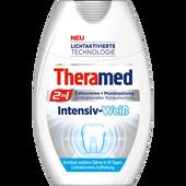 Bild: Theramed 2in1 Zahncreme + Mundspülung Intensiv-Weiß