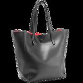 Bild: LOOK BY BIPA Shopper Tasche schwarz,rot